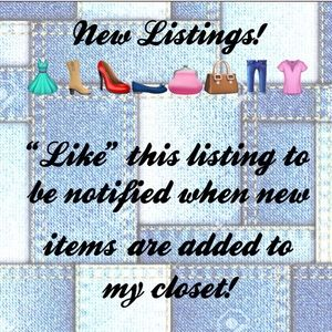 Other - Look for the 🆕 Icon for Fresh Closet Items!